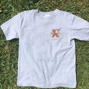 😊 DISNEY Grey Tigger Tee Shirt